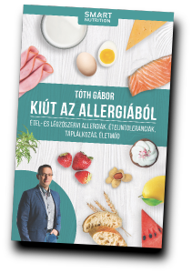 Tóth Gábor: Kiút az allergiából könyv